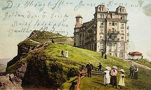 Rigi - Postcard from Rigi (1906).