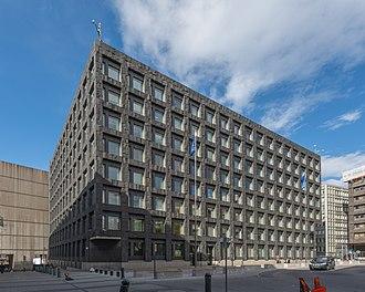 Sveriges Riksbank - Image: Riksbankshuset April 2015