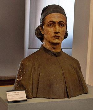 Giovanni di Bicci de' Medici - Bust of Giovanni di Bicci de' Medici by Romeo Pazzini (1855-1936); Museo della città di Rimini