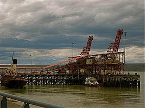 Río Gallegos, Santa Cruz - Rio Gallegos port