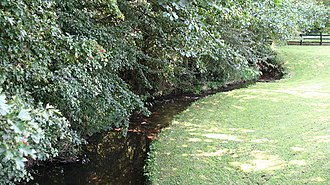 River Foss - Image: River Foss nr Crayke