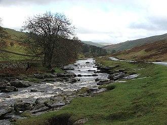 River Wharfe - Image: River Wharfe. geograph.org.uk 285600