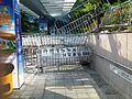 Road Block on Tim Mei Avenue Footbridge towards Central Government Offices on 2014-10-18.JPG