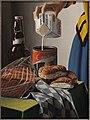 Rob Møhlmann, Canto 65, Het melkmeisje, 1987, olieverf op doek, 40x30cm.jpg