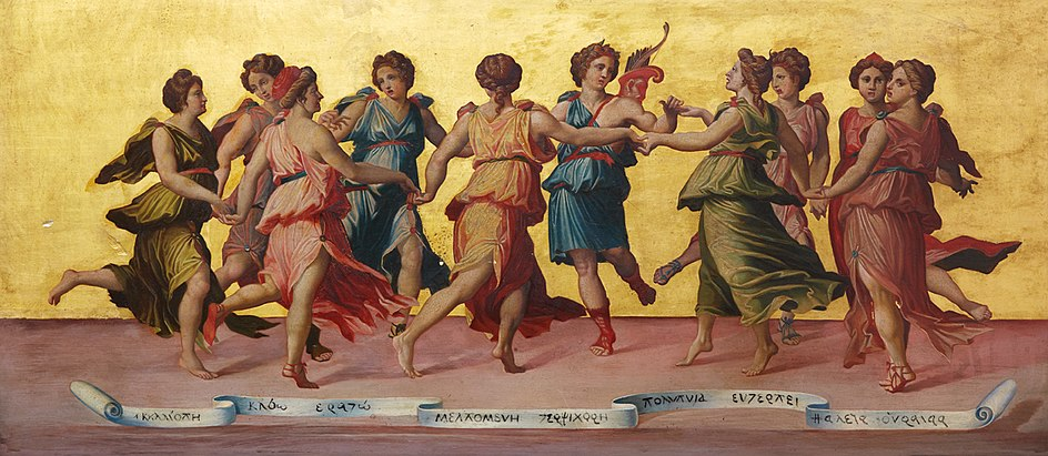Robert Sanderson - Apollo and the Muses