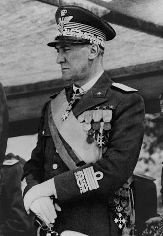 Military history of Italy during World War II - General Rodolfo Graziani.