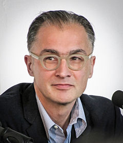 Aris Fioretos, Römerberggespräche, Frankfurt am Main, april 2014