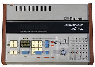Roland MC-4 Microcomposer Music sequencer