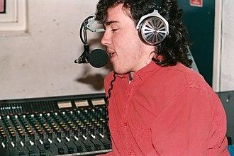 Rollo Armstrong - Image: Rollo on URY Nov 1987