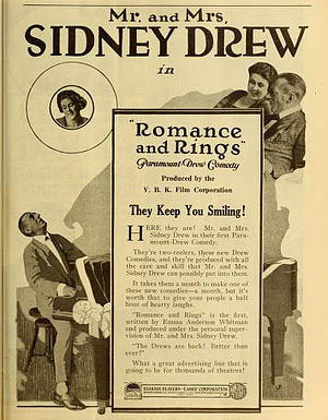 Mr. and Mrs. Sidney Drew - Romance and Rings (1919)