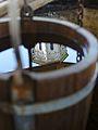 Romania Putna Monastery Well Water Bucket Reflection1.jpg