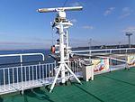 Romantika Stern Mast with SWA Tallinn 5 October 2014.JPG