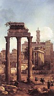 Rome- Ruins of the Forum, Looking towards the Capitol.jpg