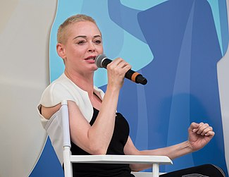 Rose McGowan at Ozy Fest