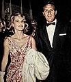 Rosemarie Bowe and Robert Stack, 1961.jpg