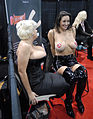 Rosie and Persia Noir from Cheetahs at the 2009 AVN AEE.jpg