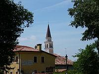 Rossano Veneto - scorcio campanile.JPG