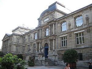 Musée des Beaux-Arts de Rouen - Main façade of the Museum