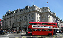 Routemaster Bus, Piccadilly Circus.jpg