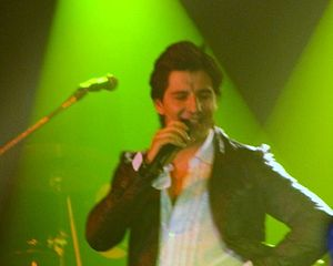 Sakis Rouvas performing in Toronto as part of ...