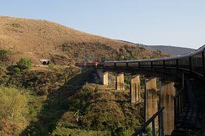 Chinese people in Tanzania - The Chinese built TAZARA Railway linking Zambia with Tanzania.