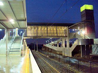 Roxburgh Park, Victoria - Roxburgh Park Rail Station