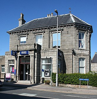 New Deer - The Royal Bank of Scotland in 2009