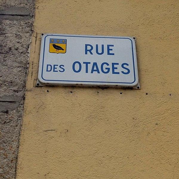 Rue des Otages.