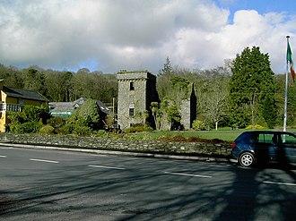 Ballyvourney - Ruin of former Colthurst residence, The Mills Inn, Ballyvourney