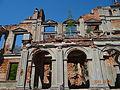 Ruina pałacu z 2 połowy XIX wieku.JPG