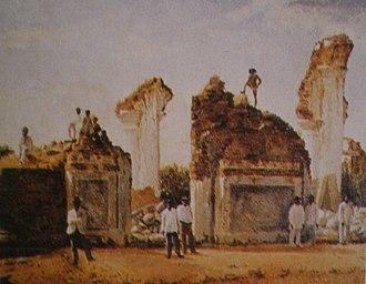 Cristóbal Rojas (artist) - Image: Ruinas de Cúa después del Terremoto de 1812 Cristóbal Rojas