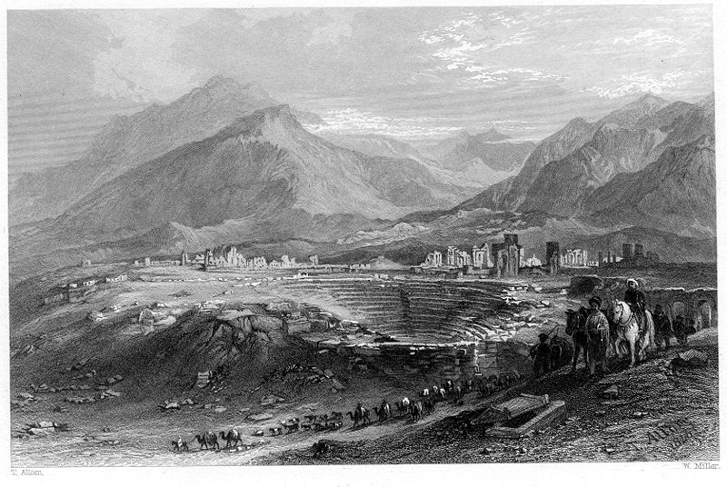 File:Ruins of Laodicea engraving by William Miller after T Allom.jpg