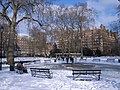 Russell Square is now covered with Snow.jpg