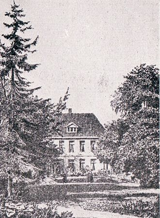 Amsinck family - A country house of the Amsinck family in Hamburg