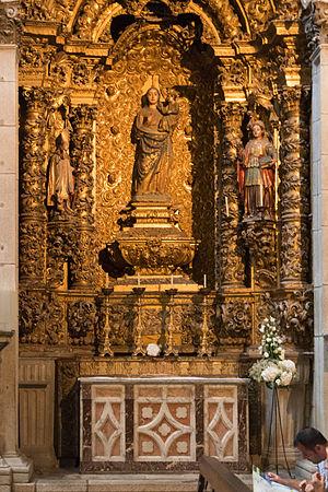 Mafalda of Portugal - Altar of Nossa Senhora da Silva, Porto