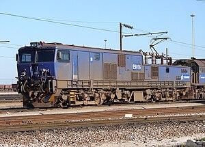 6d28ed5ac4d1f Locomotiva 9E fornecido pela G.E.C. Traction Ltd. para a a South African  Railways, modelo escolhido para a Ferrovia do Aço.