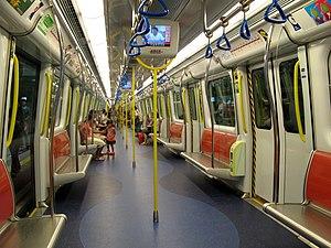 SP1900 EMU - Image: SP1900 West Rail Line Train Interior