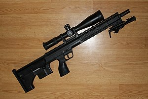 Desert Tech SRS - Image: SRS 308 with flashhider
