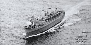 War Shipping Administration - SS Mariposa, 28 March 1944.