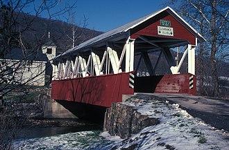 Cromwell Township, Huntingdon County, Pennsylvania - St. Mary's Covered Bridge