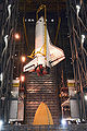 STS132 Atlantis hoisted Apr1.jpg