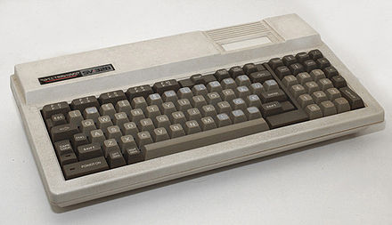 The Spectravideo SV-328 was the predecessor of the MSX standard. Many MSX programs were unofficially ported to the SV-328 by home programmers. SV328.jpg