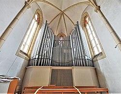 Saarbrücken-Burbach, St. Eligius (Weise-Orgel, Prospekt) (12).jpg