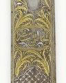 Sabel med klinga av stål av kilij-typ, 1600-1625 cirka - Skoklosters slott - 102333.tif