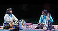 Sabir Khan et Prabhu Edouard en concert au musée Guimet (6791931633).jpg
