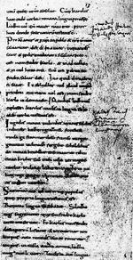 Il testo dei Giuramenti di Strasburgo