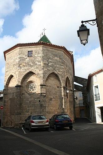 Saint-Geniès-de-Fontedit - Image: Saint Geniès de Fontedit chevet