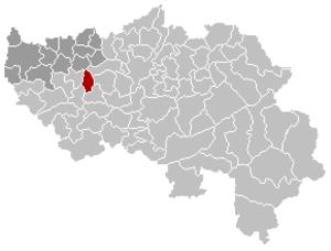 Saint-Georges-sur-Meuse - Image: Saint Georges sur Meuse Liège Belgium Map