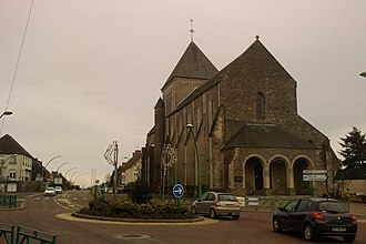 Saint-Gilles, Manche - The village and its church
