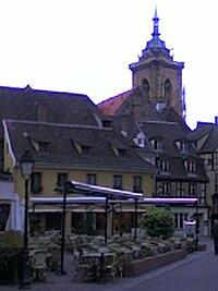 Carte de Colmar
